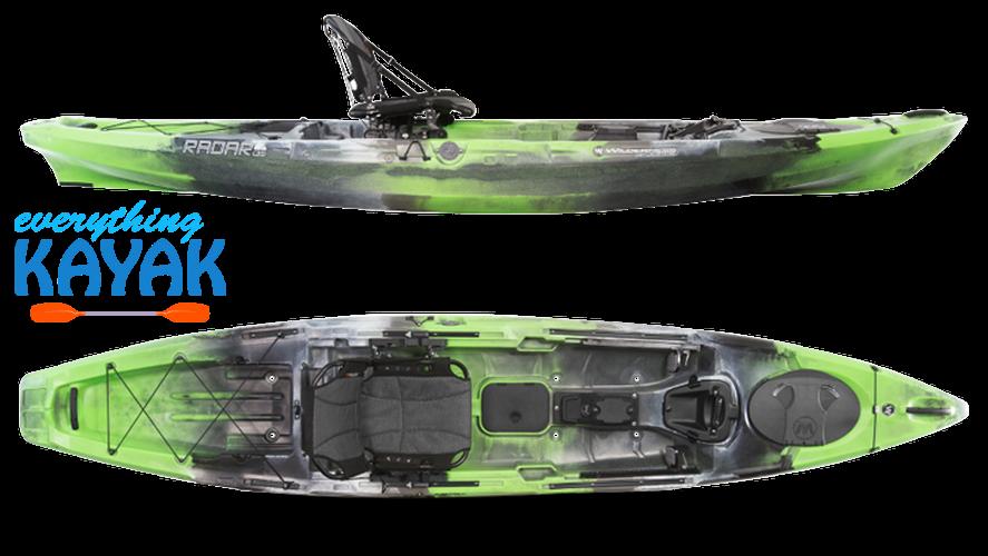 Wilderness Systems Radar 135 Sonar | Everything Kayak