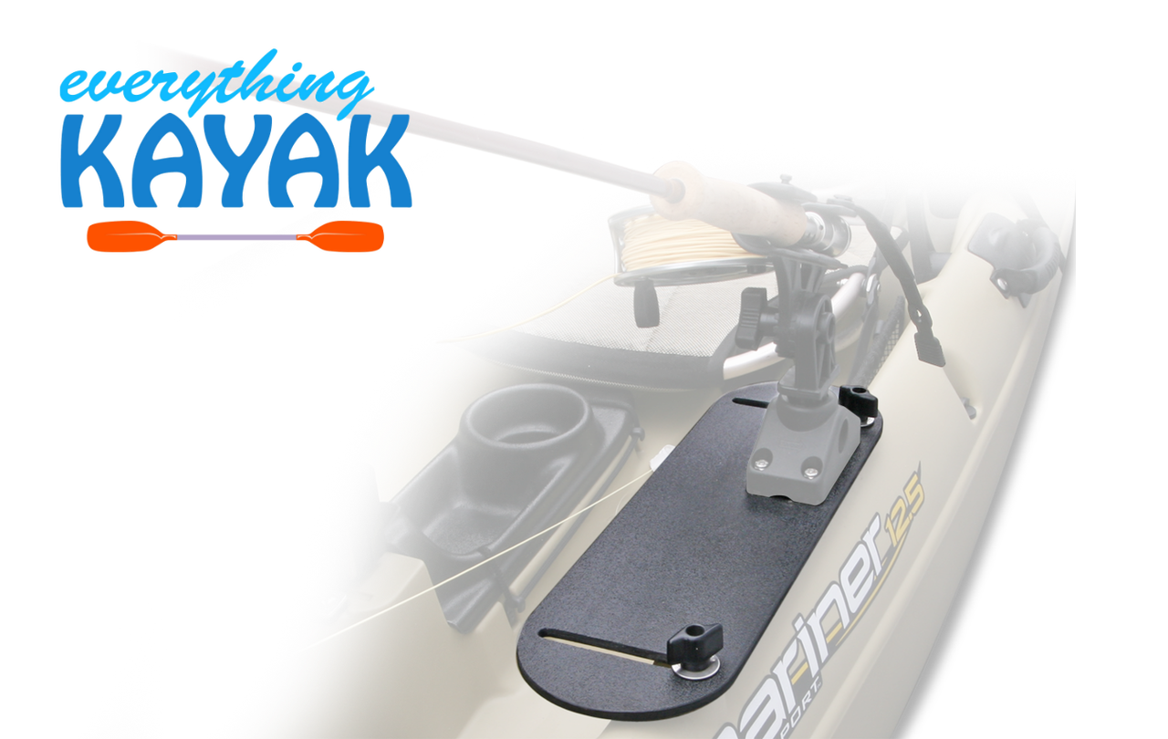 Native Watercraft Mariner Rectangle Outfitting Plate | Everything Kayak