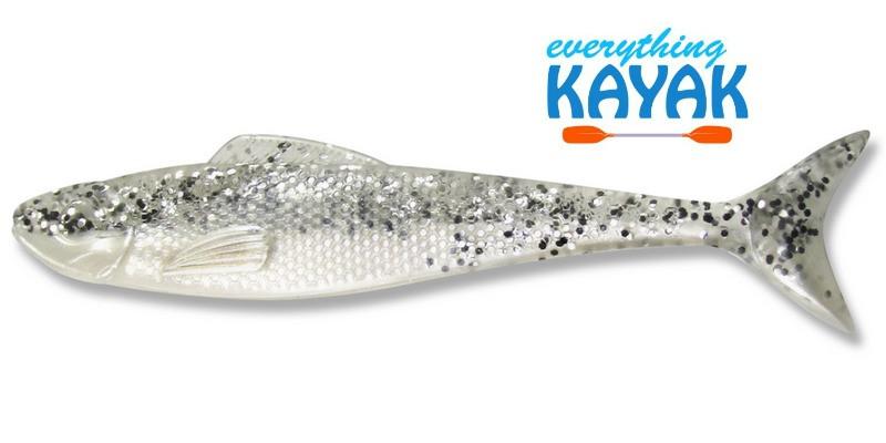 """Egret Wedge Tail 5"""" - White Diamond"""