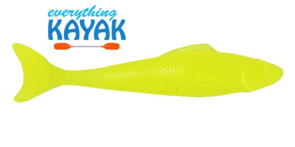 """Egret Wedge Tail 5"""" - Lime Glow   Everything Kayak"""
