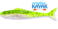 "Egret Wedge Tail 5"" - Limeade 