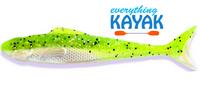 "Egret Wedge Tail 5"" - Limeade | Everything Kayak"