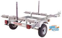 Malone EcoLight 4 Kayak Package (1 Stacker & 4 sets foam blocks) MGP586XL