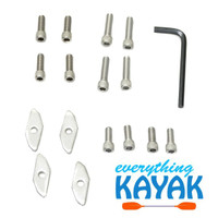 YakGear Universal Track Nut and Allen Screw Kit