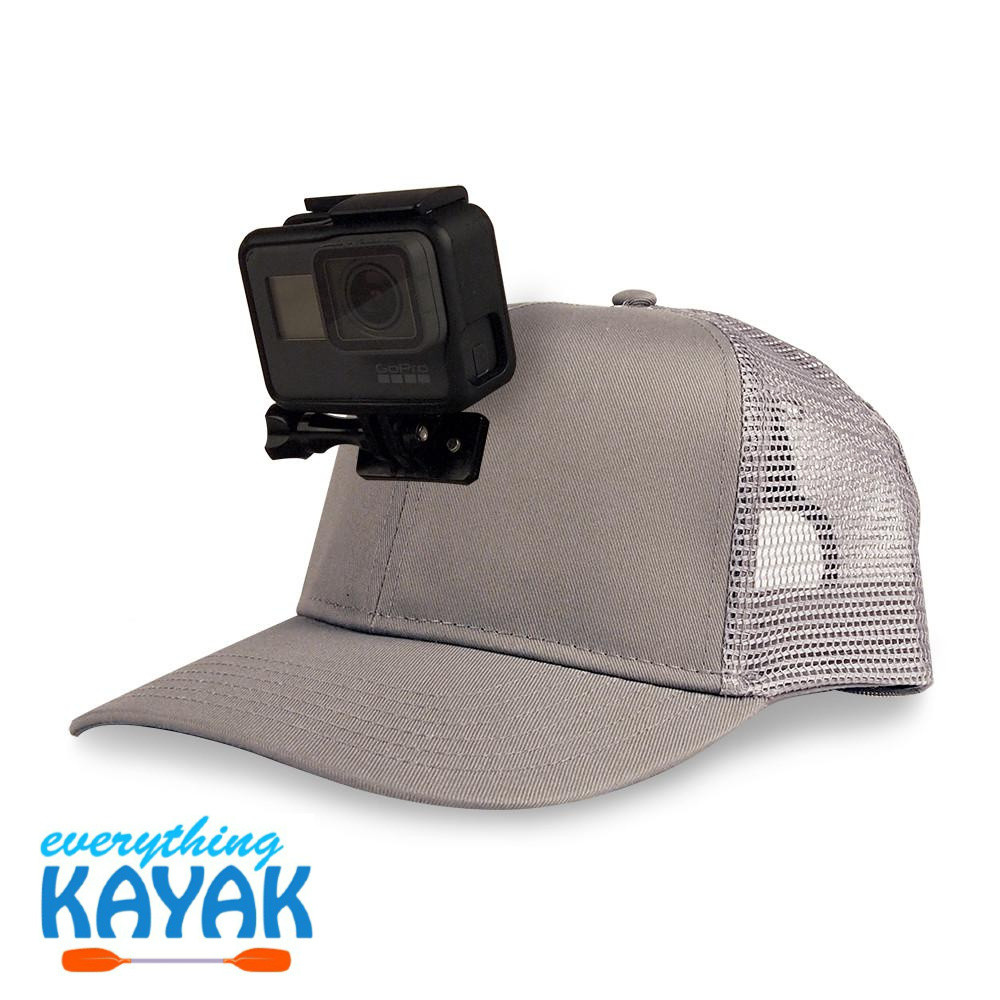 ActionHat Mesh: Curve Bill Gray