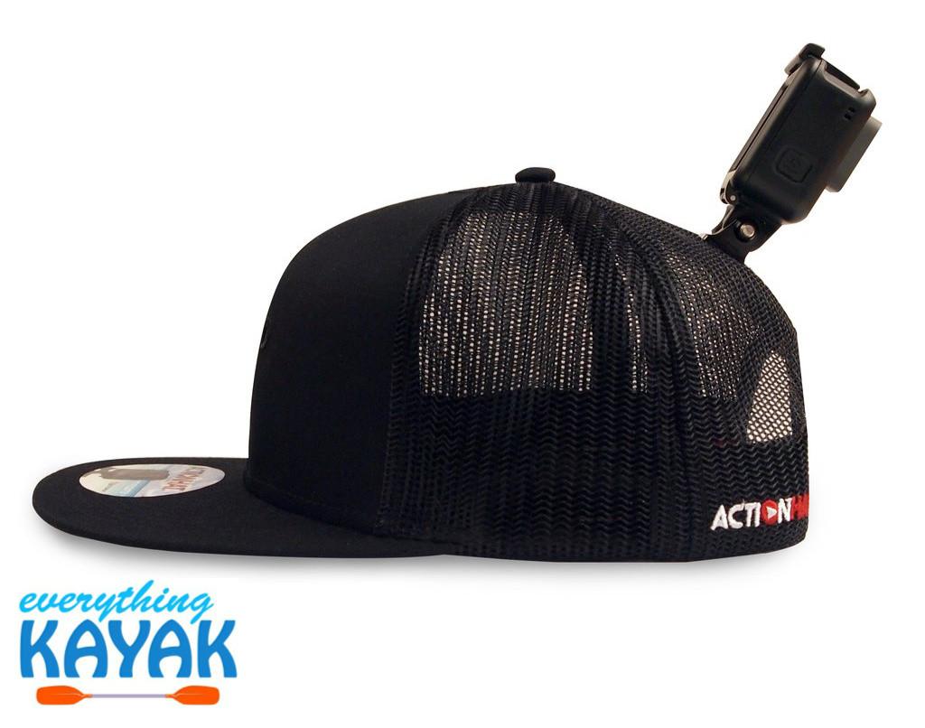 ActionHat Mesh: Curve Bill Black Back mount