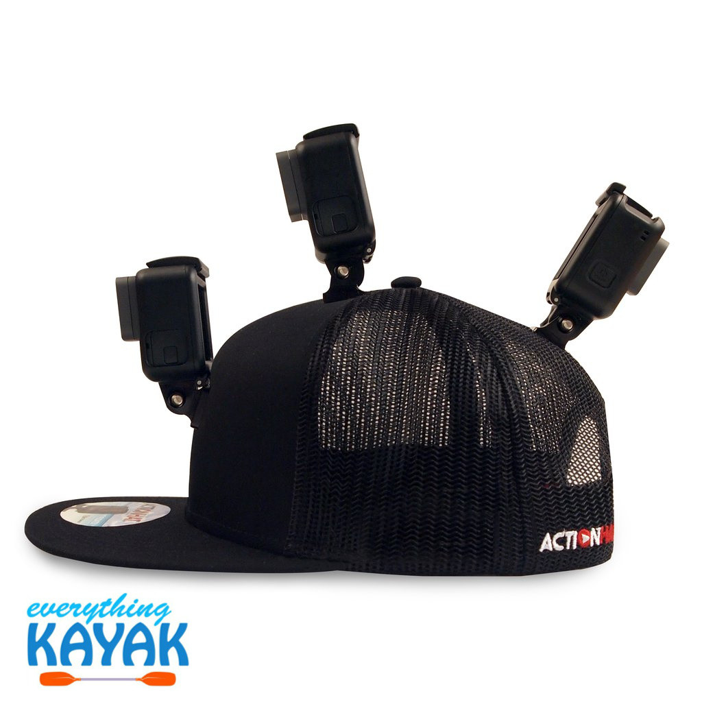 ActionHat Mesh: Curve Bill Black fully loaded