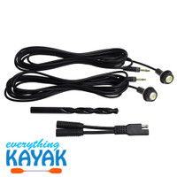 Yak Power Complete 2-Piece LED Button Light Kit