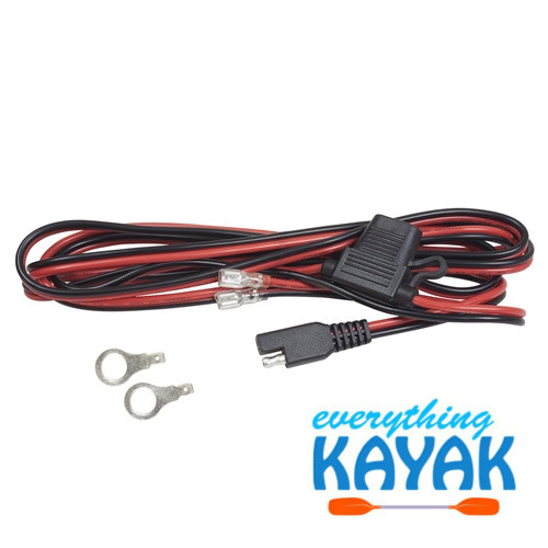 Yak Power Battery Terminal Pigtail (8 ft)