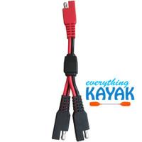 Yak Power Power Plug Accessory SAE Y-adaptor
