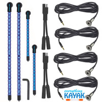 Yak Power Complete 4-piece LED Light Kit Blue