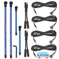 Yak Power Complete 4-piece LED Light Kit Blue