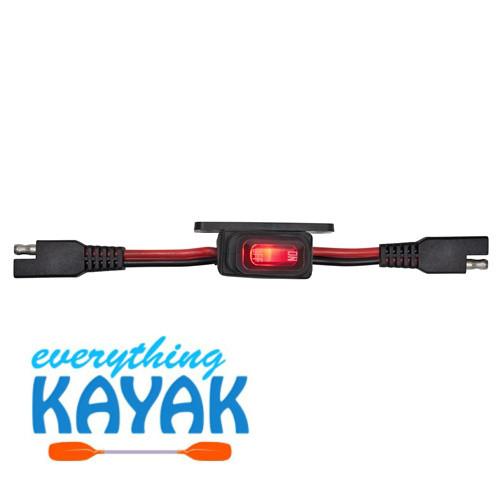 Yak Power Waterproof Inline 12v Master Power Switch (16amp)