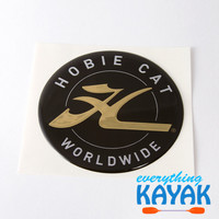 Hobie Decal Dome - Gold 2.75""