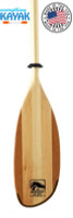 Bending Branches Impression Wood Kayak Paddle