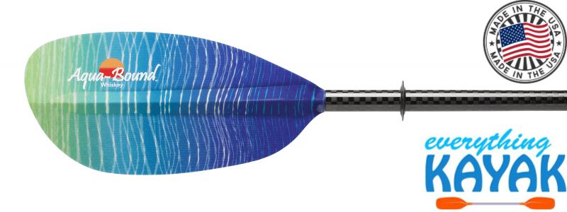 Aqua-Bound Whiskey Fiberglass Paddle 2pc Sunwave