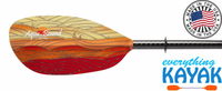 Aqua-Bound Whiskey Fiberglass Paddle 2pc Fuego
