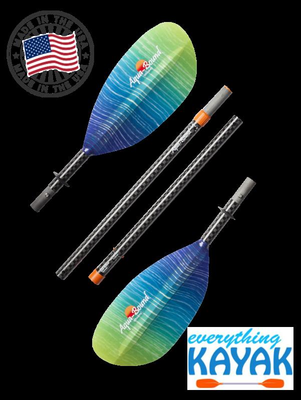Aqua-Bound Whiskey Fiberglass Paddle 4pc Sunwave