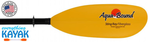 Aqua-Bound Sting Ray Fiberglass Paddles