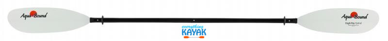 Aqua-Bound Eagle Ray Hybrid Paddle 4 piece snap