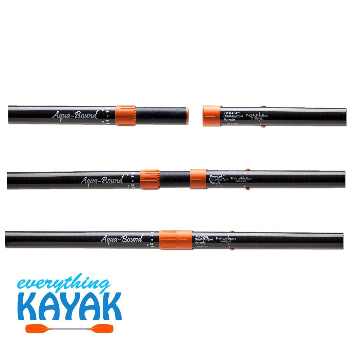 Aqua-Bound Eagle Ray Hybrid Paddle Posi-Lok
