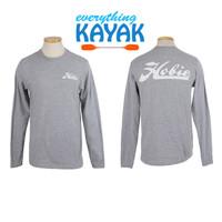 Hobie Men's Gray Long Sleeve Shirt