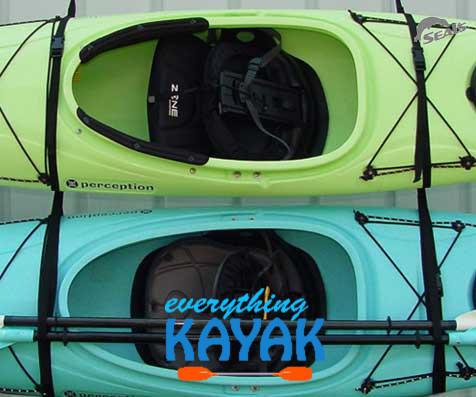 Kayak Wall Hanger >> Seals Wall Hanger Strap Set Everything Kayak