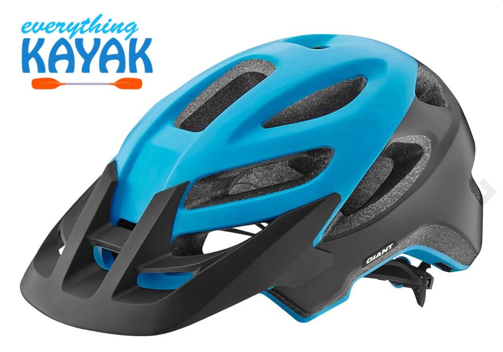 Giant Roost Helmet - Matte Blue | Everything Kayak
