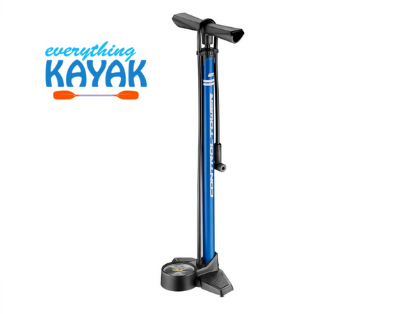 Giant Control Tower 2 Floor Pump - Blue | Everything Kayak