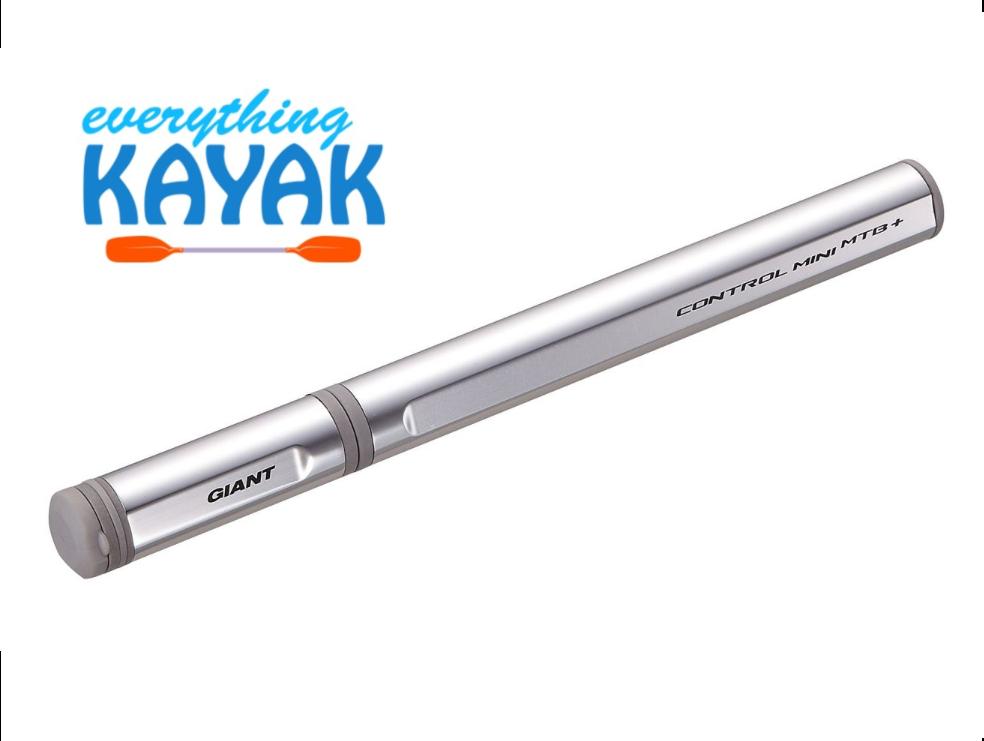 Giant Control Mini Road+ Pump - Silver | Everything Kayak