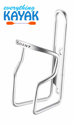 Giant GateWay 6mm Water Bottle Cage - Silver | Everything Kayak
