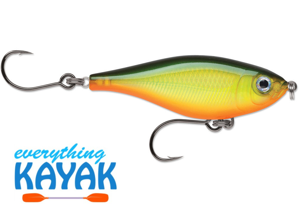 Rapala X-Rap Twitchin' Mullet - Hot Olive | Everything Kayak