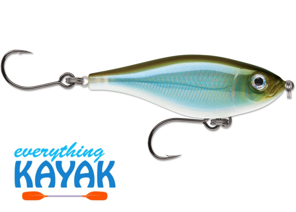 Rapala X-Rap Twitchin' Mullet - Moss Back Shiner | Everything Kayak