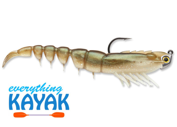 "Rapala 4"" Shrimp Jig - Arkansas Glow 