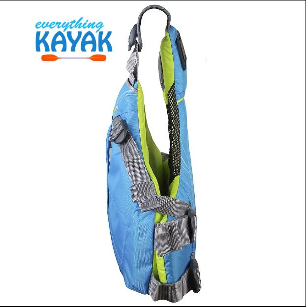 Stohlquist Glide PFD - Women's - Cyan Blue SIDE | Everything Kayak