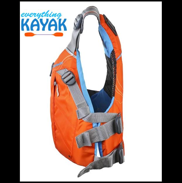 Stohlquist Glide PFD - Women's - Orange SIDE | Everything Kayak