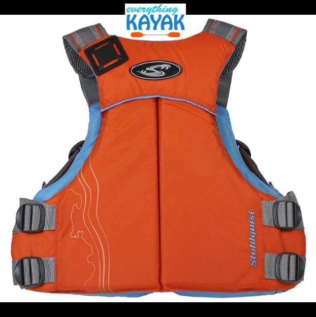 Stohlquist Glide PFD - Women's - Orange BACK | Everything Kayak