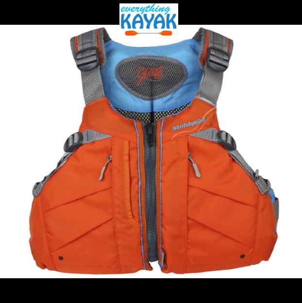 Stohlquist Glide PFD - Women's - Orange | Everything Kayak