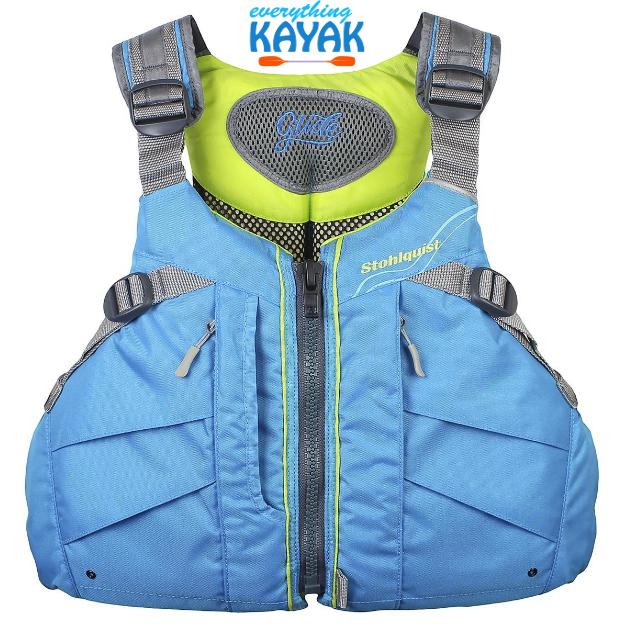 Stohlquist Glide PFD - Women's - Cyan Blue | Everything Kayak