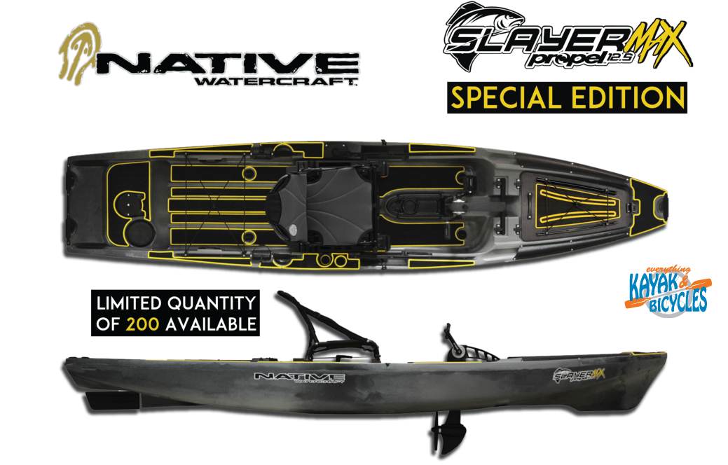 Native Slayer Propel 12.5 Max Special Edition   Everything Kayak & Bicycles