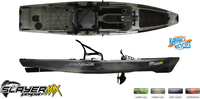 Native Slayer Propel 12.5 Max - Grey Goose | Everything Kayak & Bicycles