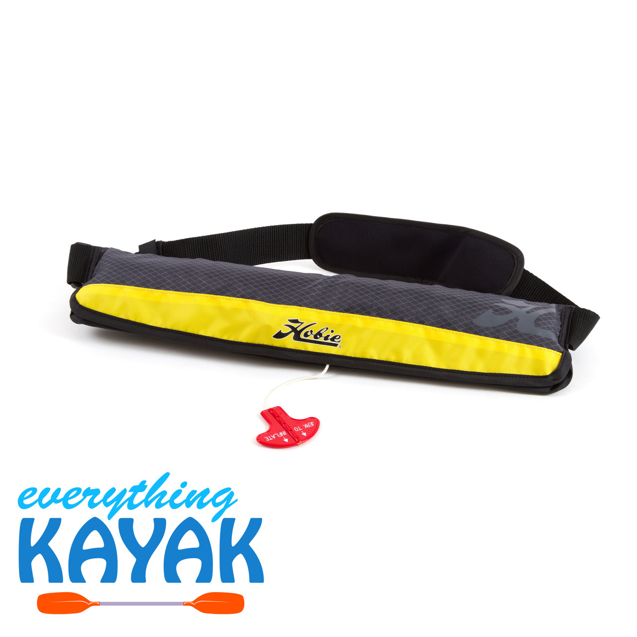 Pfd Belt Pack Inflatable - yellow | Everything Kayak & Bicycles