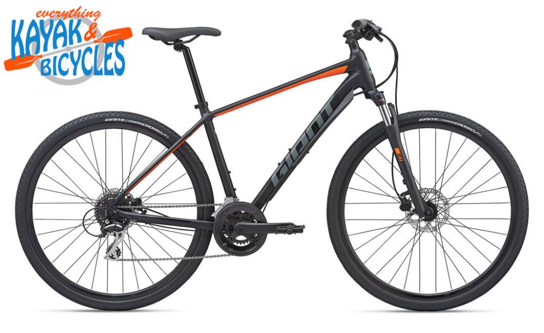 2020 Giant Roam 3 DISC - Gloss Black/Orange| Everything Kayak & Bicycles