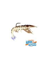 Overcast Bucking Shrimp-  Delta Dawn