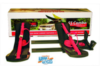 SeaWing Kayak Carrier with Stinger Load Assist Combo - Tie-Downs - V Style - Rear Loading