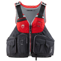 NRS Chinook OS Fishing PFD RED