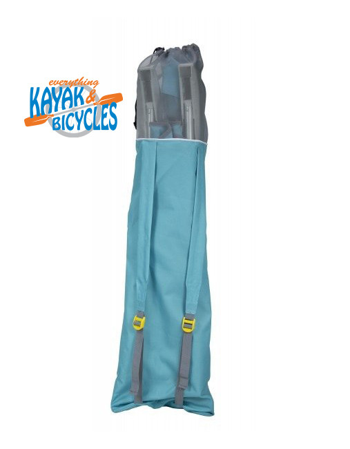 Carry bag with back pack straps