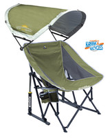 GCI Outdoor Pod Rocker With Sun Shade