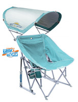 GCI Outdoor Pod Rocker with Sunshade  Beach Chair