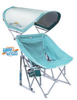 GCI Outdoor Pod Rocker with Sunshade  Beach Chair